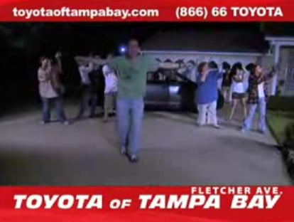 """Toyota of Tampa Bay Commercial is a Real """"Thriller"""""""