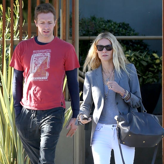 Gwyneth Paltrow and Chris Martin Walking in LA Pictures