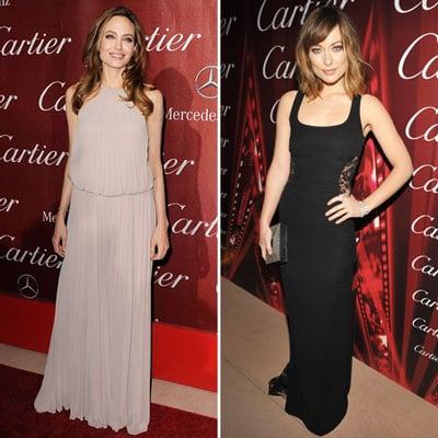 Angelina Jolie and Olivia Wilde Went to Gorgeous Great Lengths — Who's Most Fab?
