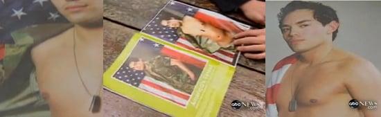 Former National Guardsman Plays Strip-Protest for Playgirl