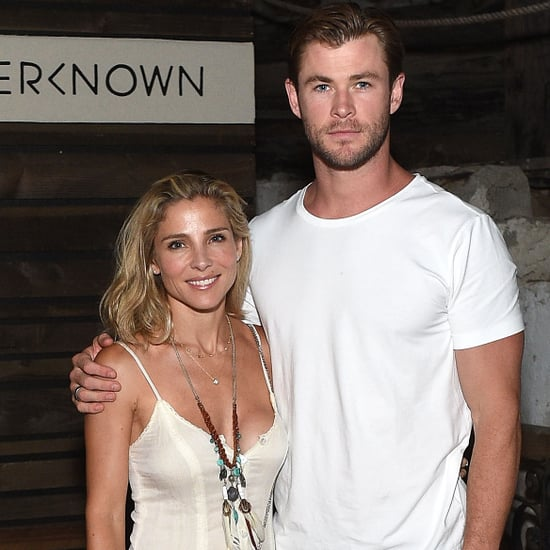 Cute Pictures of Chris Hemsworth and Elsa Pataky