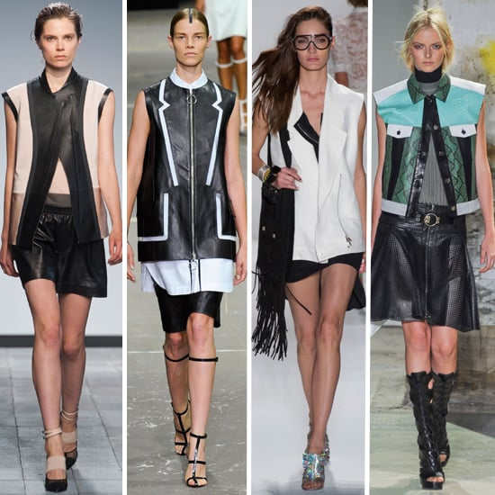Sleeveless Jackets at Spring 2013 Fashion Week: Trend