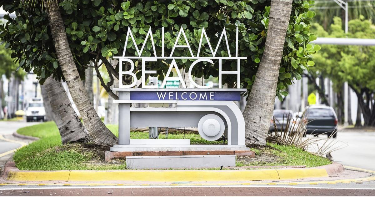 Ortsschild Miami Beach
