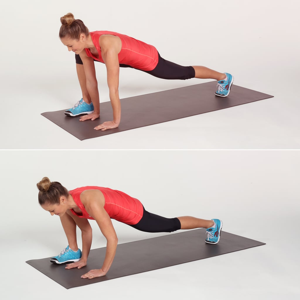 Runner's Lunge With Push-Up
