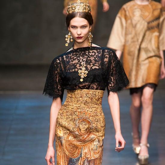 Dolce & Gabbana Runway | Fashion Week Fall 2013 Photos