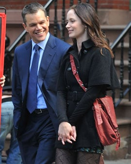 Matt Damon Talks Working Relationship With Ben Affleck at Adjustment Bureau Junket With Emily Blunt 2011-03-04 11:30:00