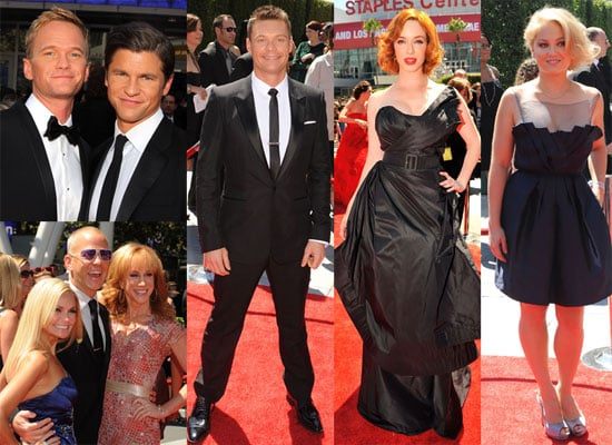 Pictures of Neil Patrick Harris, Christina Hendricks, Jon Hamm, Ryan Seacrest and More at Creative Arts Emmy Awards