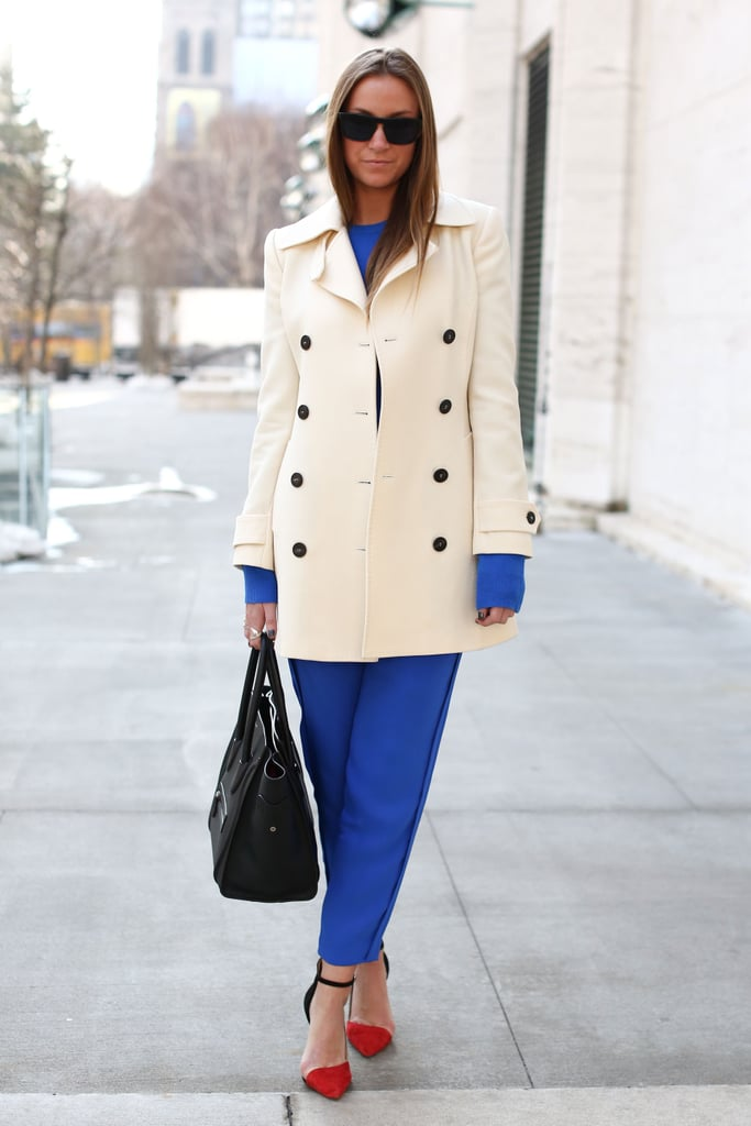 Red, white, and blue in the chicest way possible.