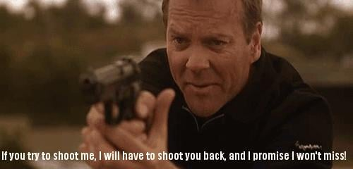 When the boogie man goes to sleep, he checks his closet for Jack Bauer.