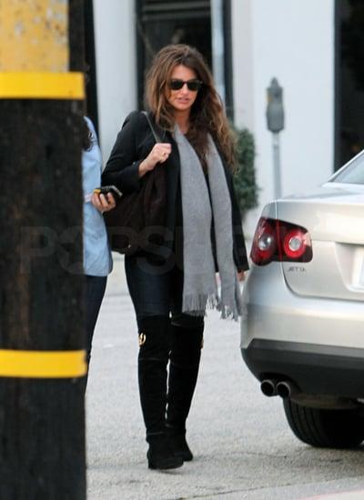 Pictures of Pregnant Penelope Cruz Shopping in LA
