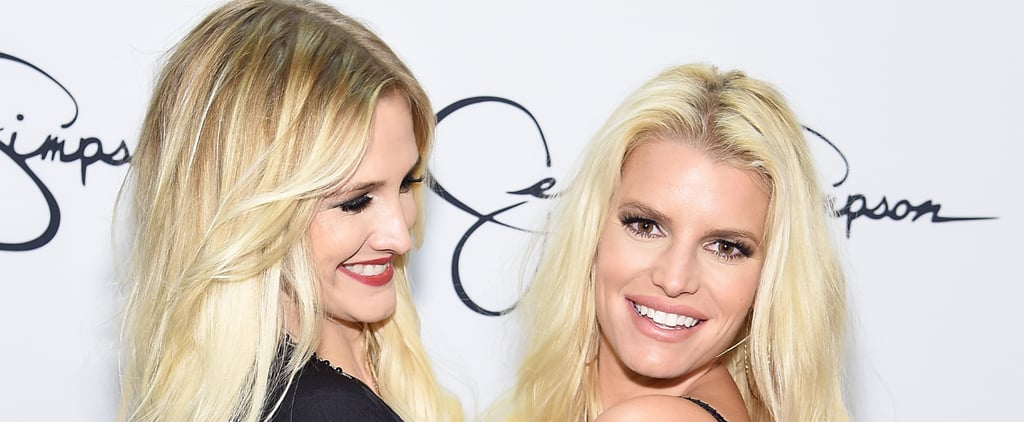 Jessica and Ashlee Simpson Share Sweet Sisterly Moments