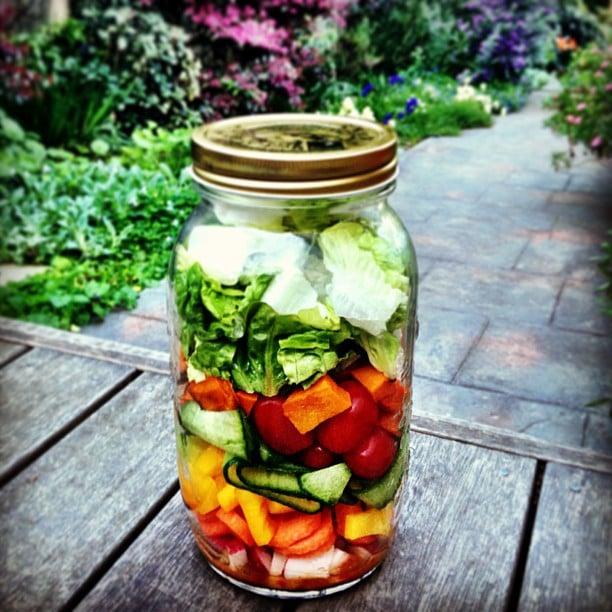 Pumpkin and Cucumber Ribbon Salad