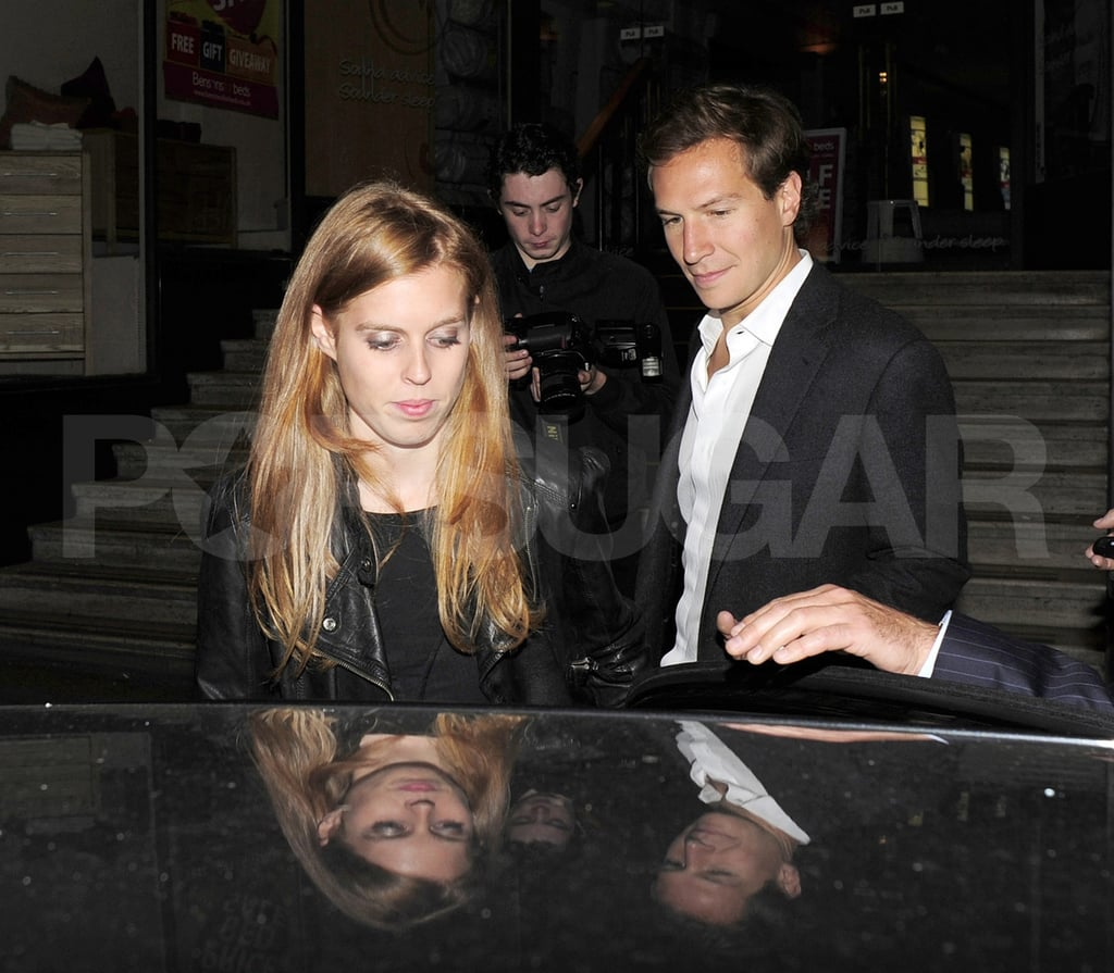 Princess Beatrice Hits the Town Hand in Hand With Boyfriend Dave Clark
