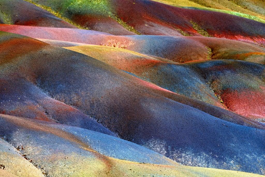Seven Colored Earth of Chamarel, Mauritius