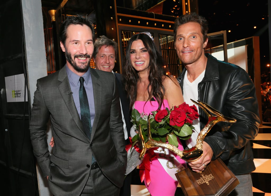 Matthew McConaughey Celebrates His Guy of the Year Win