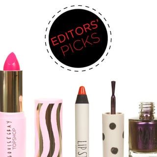 Edit of Topshop's Best Beauty Products Including Bright Lipstick, Nail Polish and More