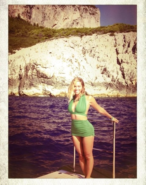 Beyoncé Knowles shared a bikini snap from her family vacation. Source: Instagram user Beyoncé