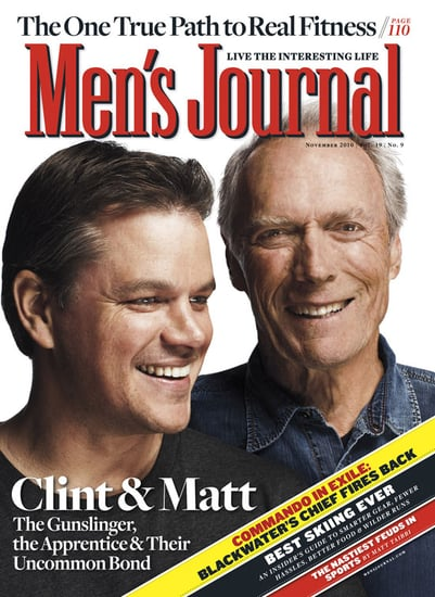 Pictures of Matt Damon and Clint Eastwood
