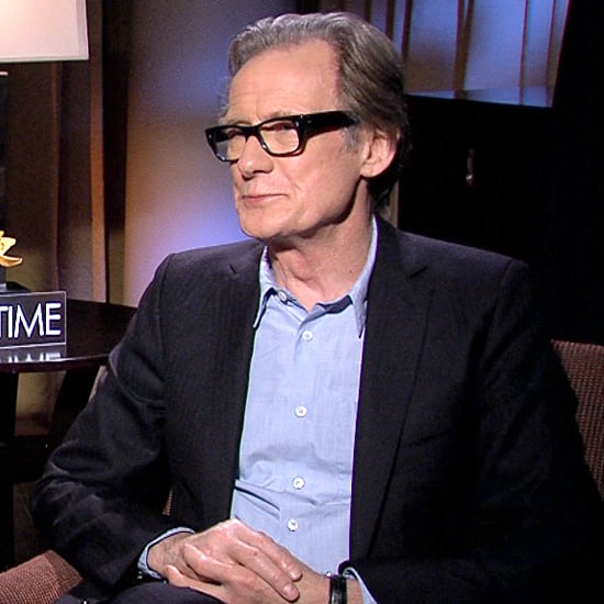 Bill Nighy and Domhnall Gleeson Interview For About Time