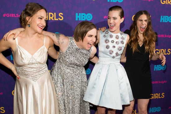The Girls Premiere Party Was One Popular Place to Be