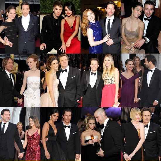 Photos of Cute Celebrity Couples at the 2011 Oscars Including Selena Gomez, Justin Timberlake, Nicole Kidman, Keith Urban