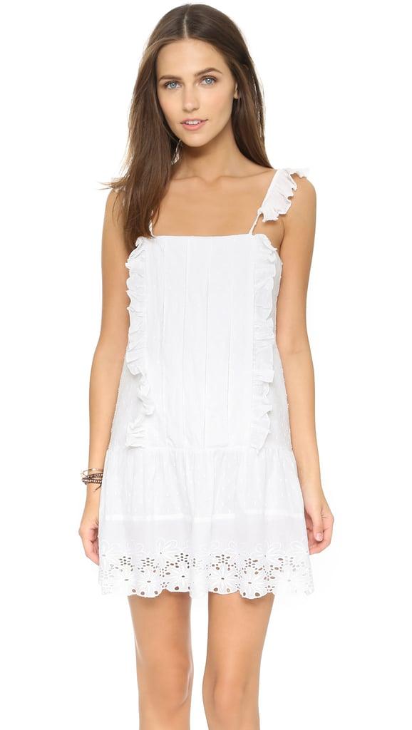 TULAROSA Annabel Ruffle Dress ($176)