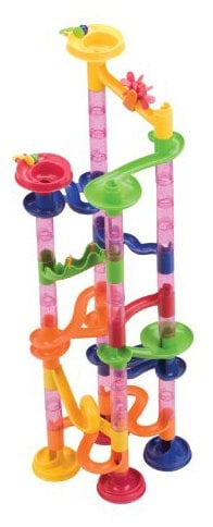 For 5-Year-Olds: Mega Marbles Marble Fun Run 80 Piece Set