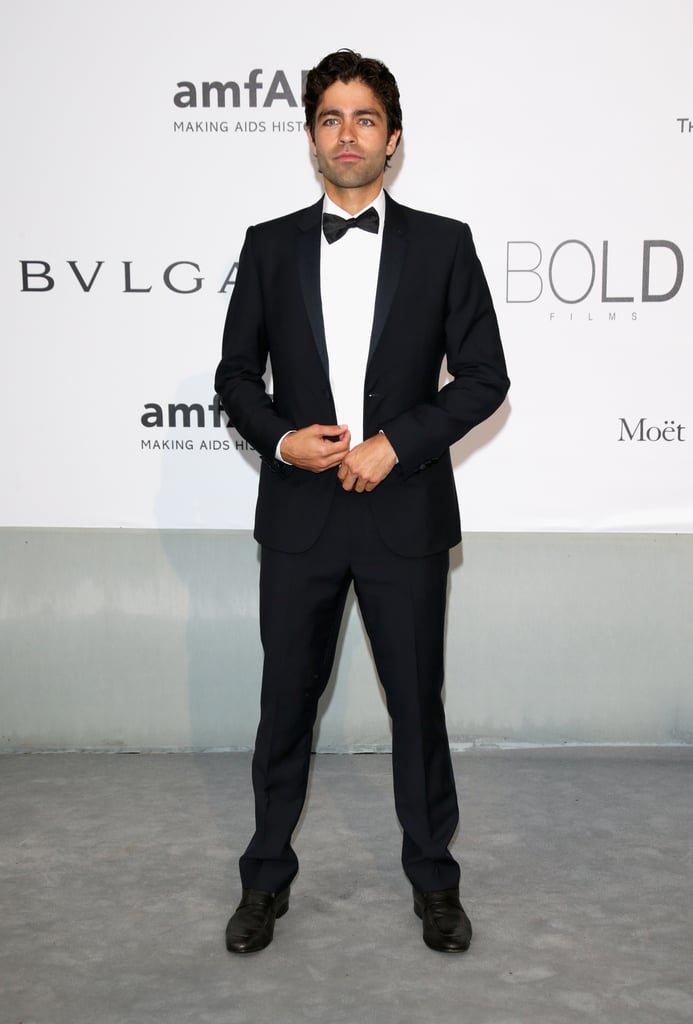 Adrian Grenier stepped out for the gala.