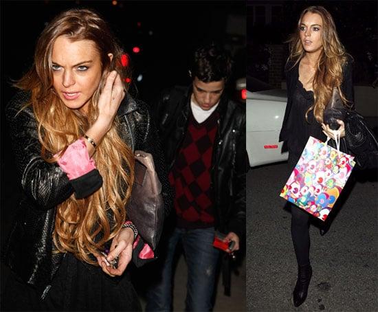 Photos of Lindsay Lohan and Samantha Ronson in LA 2009-03-20 14:30:10