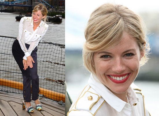 Photos of Sienna Miller at GI Joe The Rise of Cobra Photocall in London with Costars Including Channing Tatum and Dennis Quaid