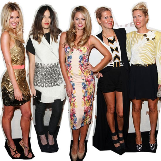 Front Row Celebrity Style from the Myer Spring Summer 2013 Collection Launch: Jesinta Campbell, Jennifer Hawkins, Laura Dundovic