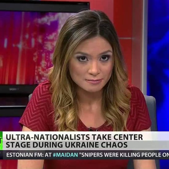 Russia Today Anchor Liz Wahl