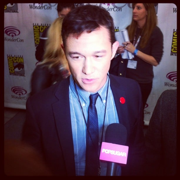 We got some early scoop on Looper when we caught up with Joseph Gordon-Levitt in March.