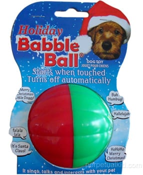 Holiday Babble Ball: Spoiled Sweet or Spoiled Rotten?