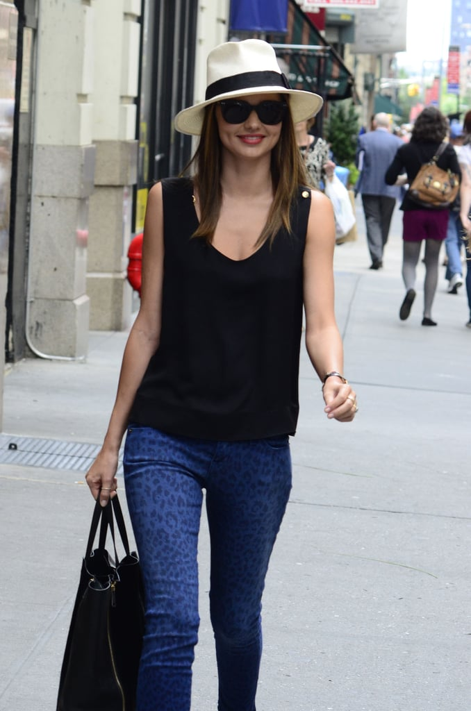 Miranda Kerr and Orlando Bloom Hold Hands on the Streets of NYC