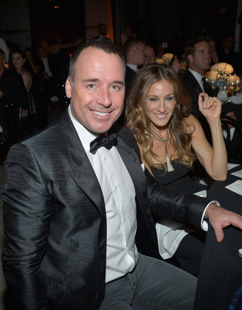 Sarah Jessica Parker posed for photos at the amfAR Inspiration Gala in LA.