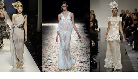 Spring 2009 Haute Couture Trend Report: Transparency Reigns