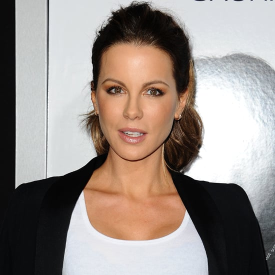 Kate Beckinsale Wearing Leather Pants