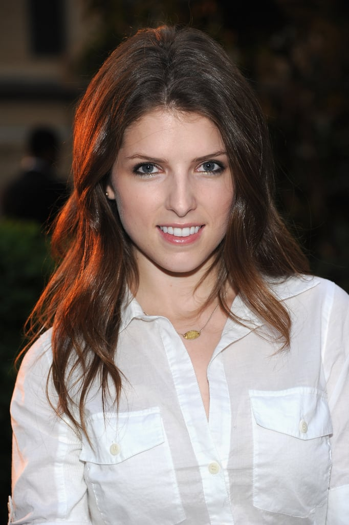 Anna Kendrick smiled at Coach's Summer Party on the High Line in NYC.