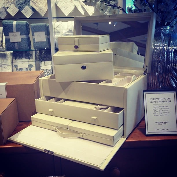 """Fact 1: These Pottery Barn jewellery boxes made it on Oprah's """"favourite things"""" list.Fact 2: They're available at Bondi Junction (and online) now. Fact 3: It's Mother's Day soon. . ."""