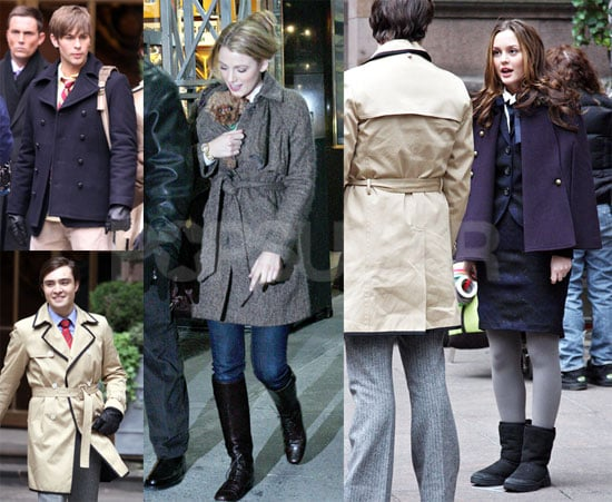 Photos of Gossip Girl Cast Filming in New York City 2008-11-21 16:30:00