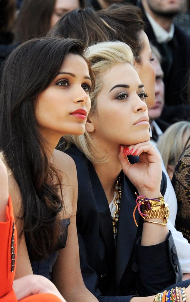 Rita Ora and Freida Pinto
