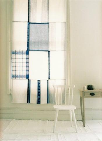Cool Idea: Dish Towel Curtain