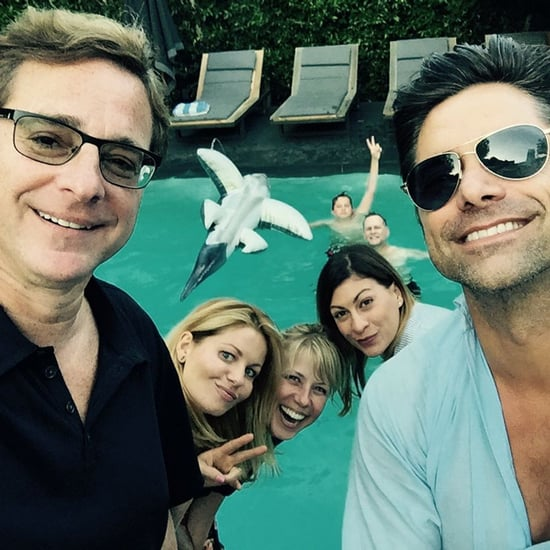 Full House Cast Celebrates John Stamos's Birthday 2015