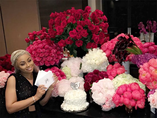 Rob Kardashian Gifts Blac Chyna 28 Bouquets of Flowers - with 28 Cards! - for Her Birthday
