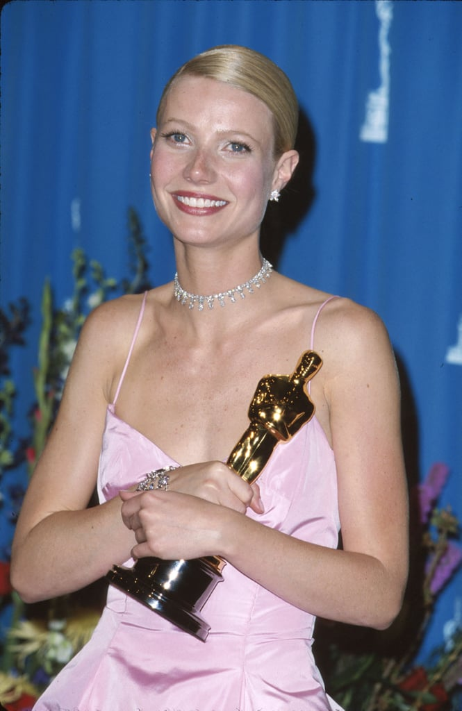She also took home an Oscar that year wearing a sleek bun and dark mauve lipstick — a beauty trend that was the highlight of the '90s.