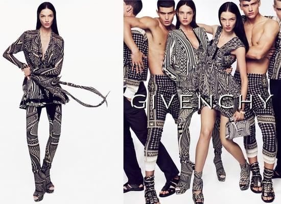 Givenchy Ad Spring 2010 Starring Natalia Vodianova and Mariacarla Boscono 2009-12-28 10:00:08