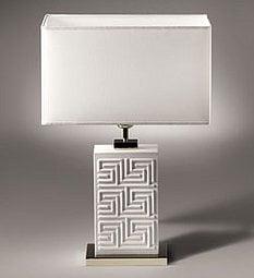 Crave Worthy: Versace Home Greek Key Lamp