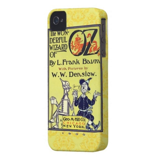 We love the vintage look of this Wizard of Oz iPhone 4S case ($46) that's both unique and functional.