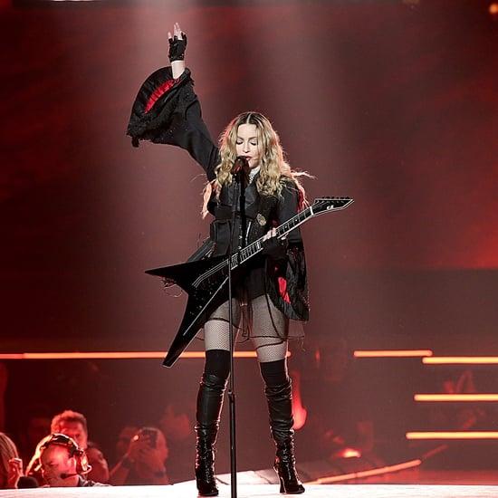"Madonna Covers ""Rebel Rebel"" in Honour of David Bowie 2016"